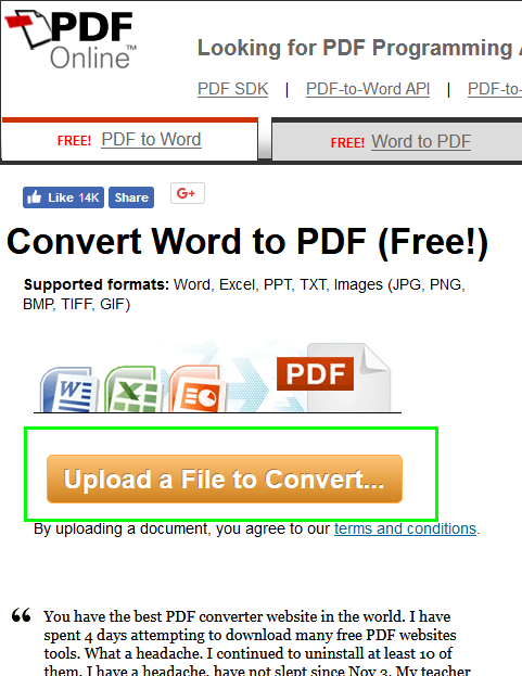 do you know converting documents in ms word 2016 to pdf documents